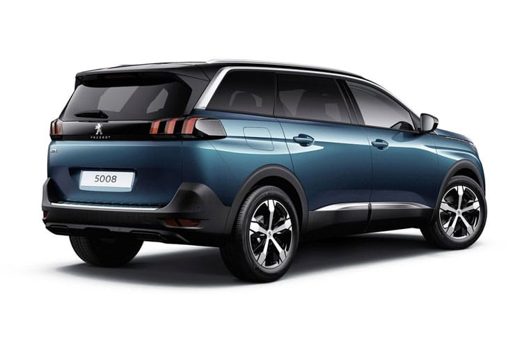 Peugeot 5008 SUV 1.5 BlueHDi 130PS GT 5Dr EAT8 [Start Stop] back view