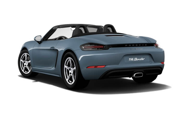 Porsche 718 Boxster Convertible 2.5 T 350PS S 2Dr PDK [Start Stop] back view