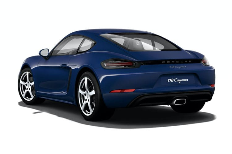 Porsche 718 Cayman Coupe 2.0 T 300PS  2Dr Manual [Start Stop] back view