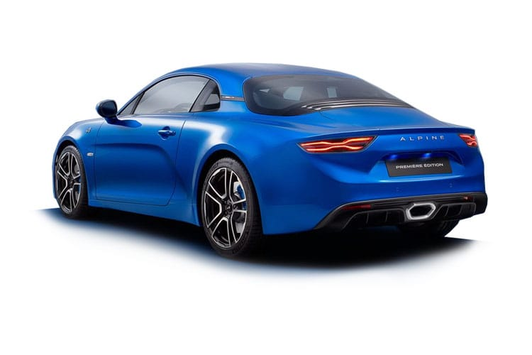 Alpine A110 Coupe 1.8 Turbo 252PS Legende GT 2Dr DCT back view