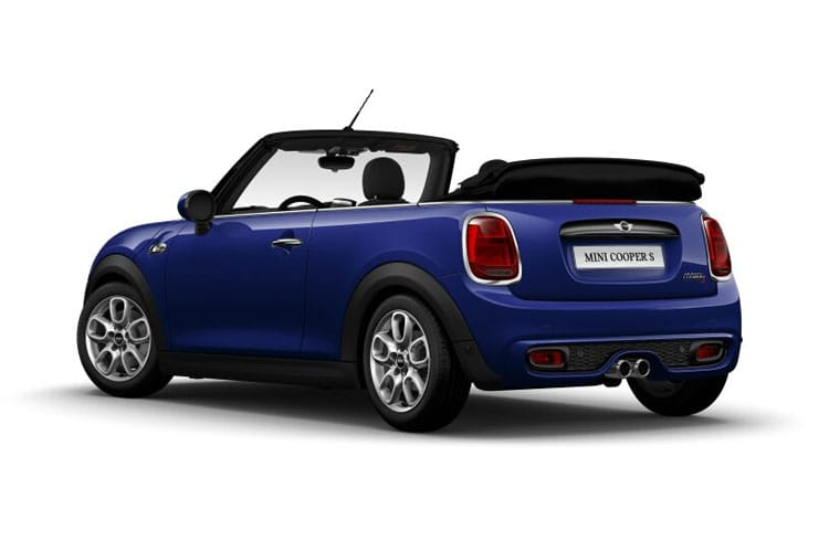 MINI Convertible Cooper S 2.0  178PS Exclusive 2Dr Steptronic [Start Stop] [Comfort] back view
