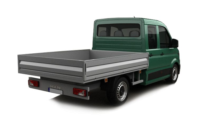MAN TGE 3.140 3.5t Long FWD 2.0 d FWD 140PS  Chassis Double Cab Manual [Start Stop] back view