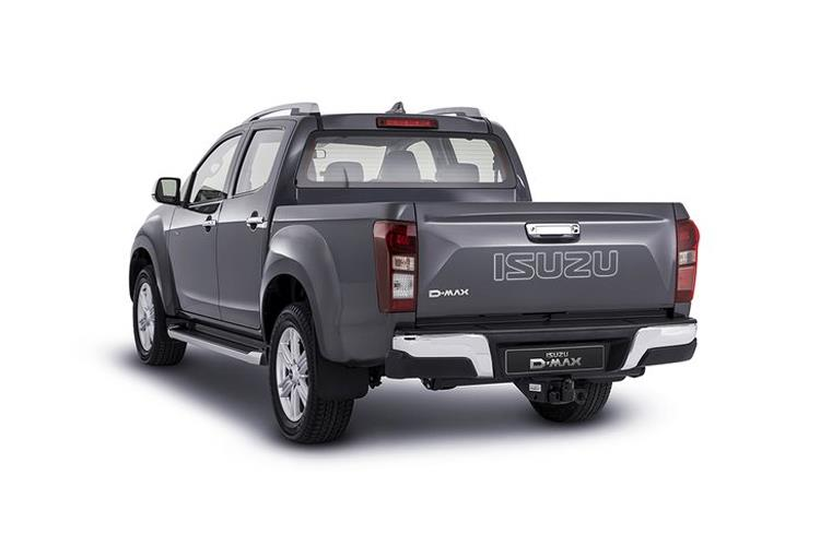Isuzu D-MAX Pick Up Double Cab 4wd 1.9 TD 4WD 164PS DL20 Pickup Double Cab Manual [Start Stop] back view
