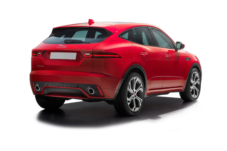 Jaguar E-PACE SUV AWD 2.0 i MHEV 200PS S 5Dr Auto [Start Stop] back view
