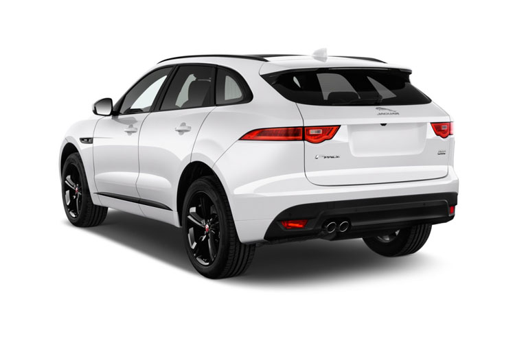 Jaguar F-PACE SUV AWD 3.0 V6 MHEV 400PS HSE 5Dr Auto [Start Stop] back view