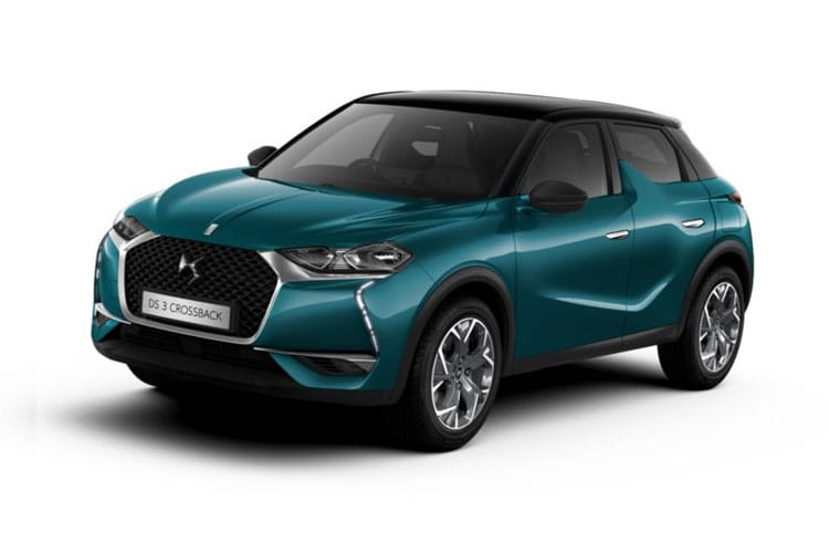 DS Automobiles DS 3 Crossback 5Dr E-TENSE 50kWh 100KW 136PS Performance Line 5Dr Auto front view
