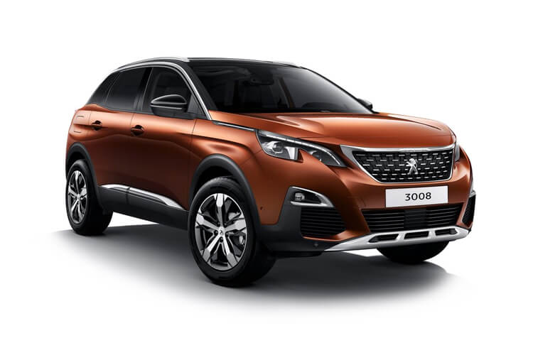 Peugeot 3008 SUV 1.2 PureTech 130PS Allure Premium 5Dr EAT8 [Start Stop] front view
