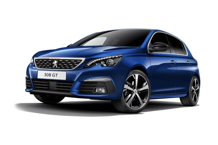 Peugeot 308 Hatch 5Dr 1.2 PureTech 130PS Allure Premium 5Dr Manual [Start Stop] front view
