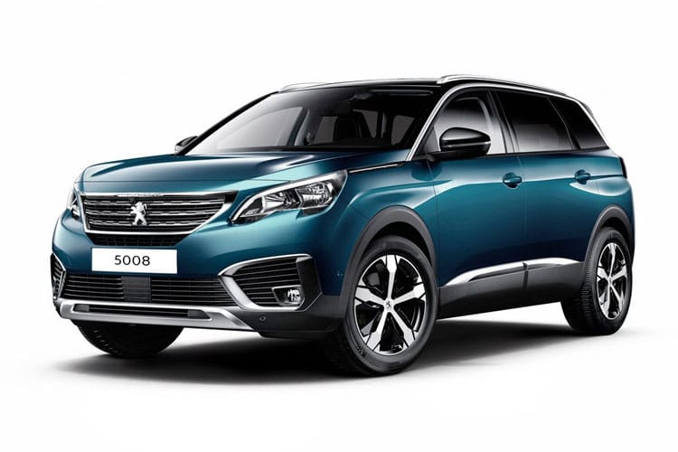 Peugeot 5008 SUV 1.5 BlueHDi 130PS Active Premium 5Dr Manual [Start Stop] front view