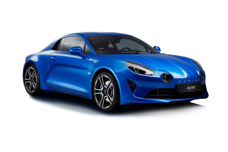 Alpine A110 Coupe 1.8 Turbo 252PS Legende GT 2Dr DCT front view