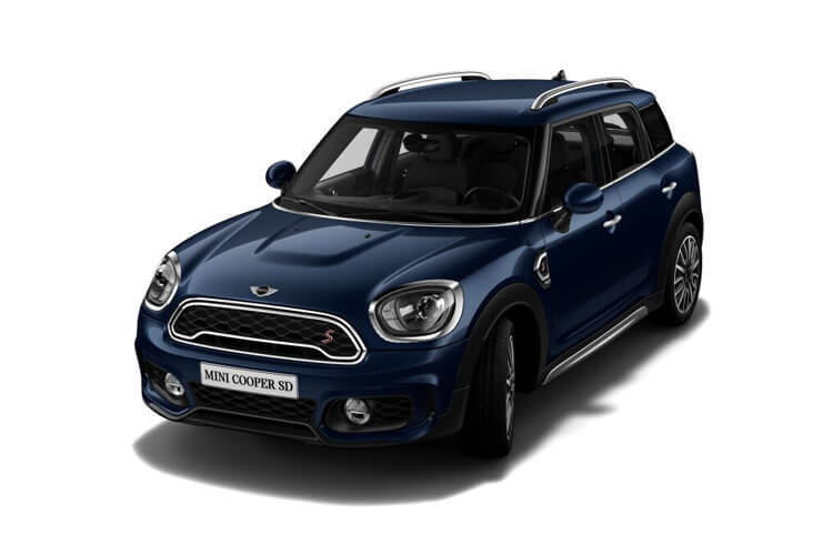 MINI Countryman Cooper S All4 1.5 E PHEV 10kWh 222PS Exclusive 5Dr Auto [Start Stop] [Comfort Nav Plus] front view