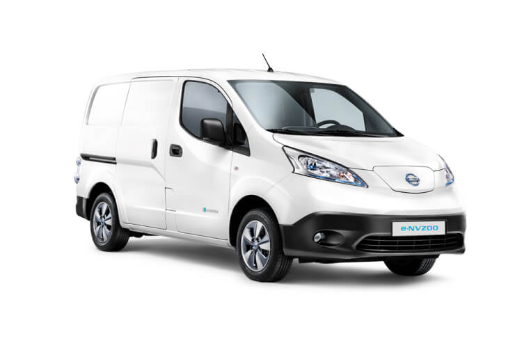 Nissan NV200 e-NV200 LCV Elec 40kWh 80KW FWD 109PS Visia Van Auto front view