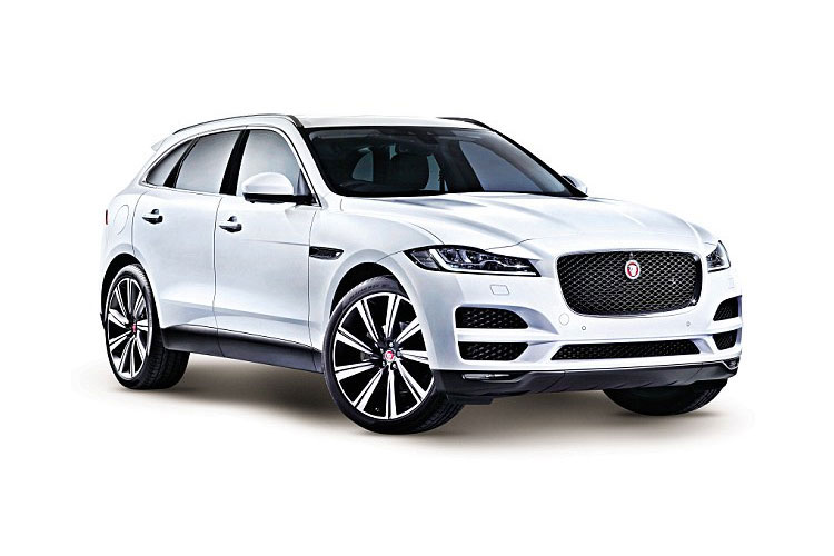 Jaguar F-PACE SUV AWD 3.0 V6 MHEV 400PS HSE 5Dr Auto [Start Stop] front view