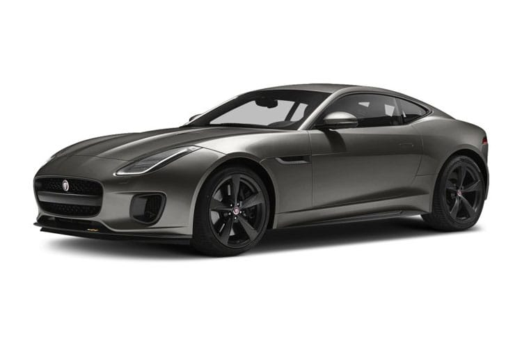 Jaguar F-TYPE Coupe 2.0 i 300PS R-Dynamic 2Dr Auto [Start Stop] front view