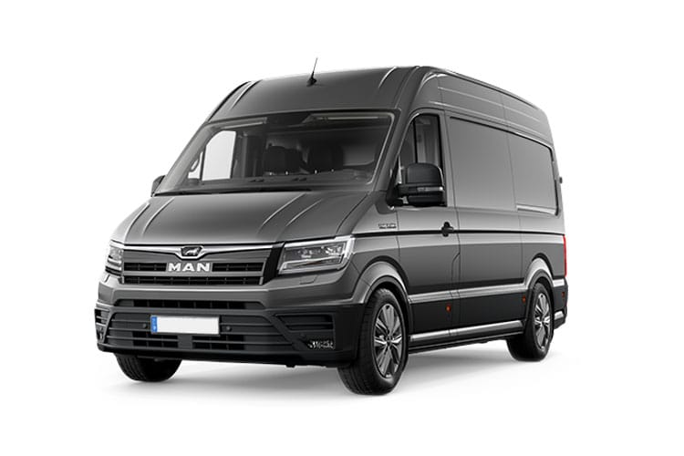 MAN TGE 3.180 3.5t Standard FWD 2.0 d BiTurbo FWD 177PS  Van High Roof Manual [Start Stop] front view