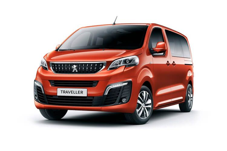 Peugeot Traveller Long 5Dr 2.0 BlueHDi FWD 180PS Allure MPV EAT [Start Stop] [8Seat] front view