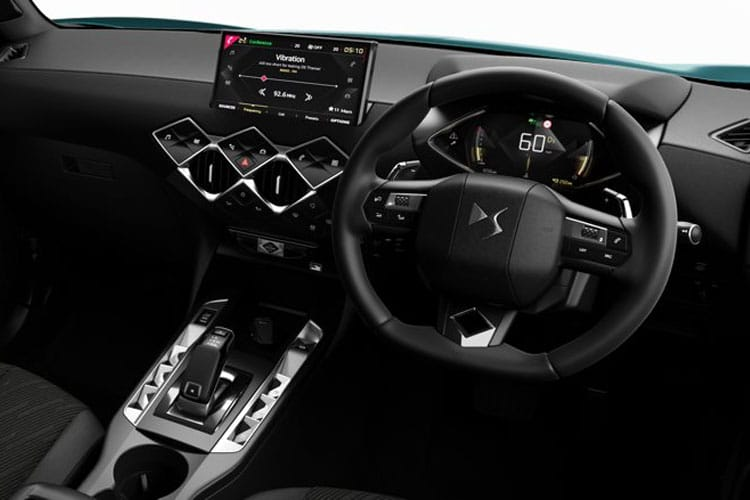 DS Automobiles DS 3 Crossback 5Dr E-TENSE 50kWh 100KW 136PS Performance Line 5Dr Auto inside view