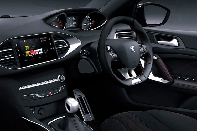 Peugeot 308 SW 5Dr 1.2 PureTech 130PS GT 5Dr EAT8 [Start Stop] inside view