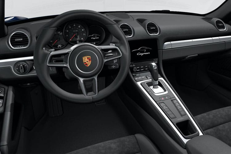 Porsche 718 Cayman Coupe 2.0 T 300PS  2Dr Manual [Start Stop] inside view