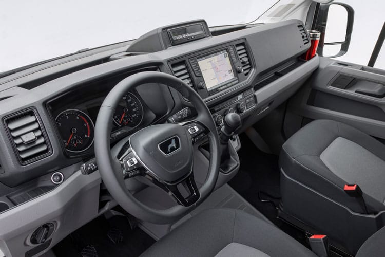 MAN TGE 3.140 3.5t Long FWD 2.0 d FWD 140PS  Chassis Double Cab Manual [Start Stop] inside view