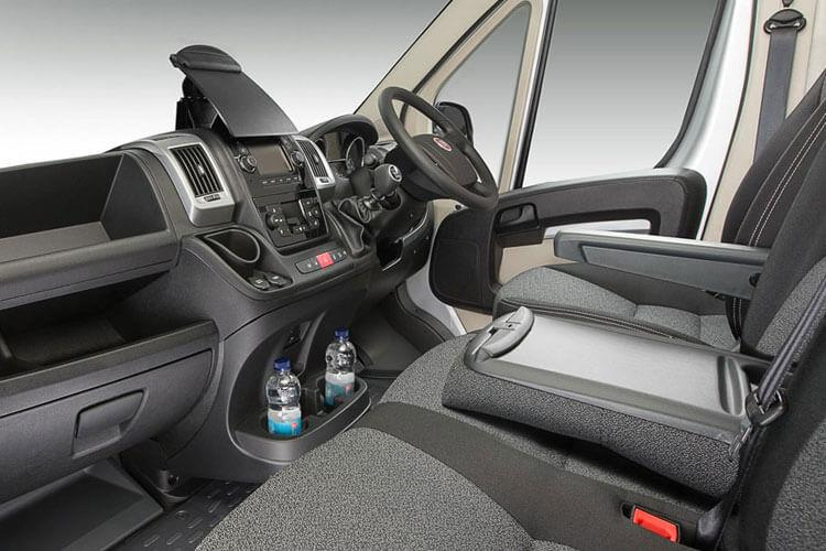 Fiat Ducato e-Ducato 35 LWB Elec 47kWh 90KW FWD 122PS eTecnico Van High Roof Auto [11kW Charger] inside view
