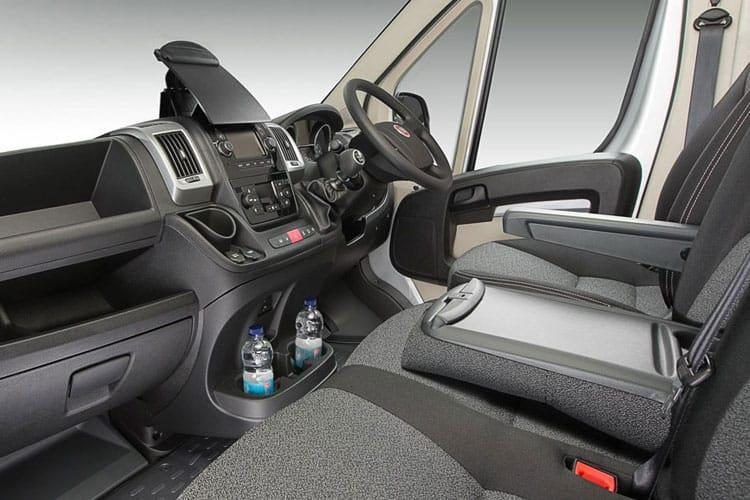Fiat Ducato e-Ducato 35 MWB Elec 47kWh 90KW FWD 122PS  Van Auto [11kW&50kW Rapid Charger] inside view